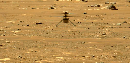 What's Your Point? Mars Rover Helicopter